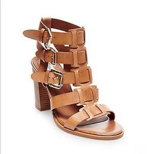 Steve Madden Shoes - Steve Madden Pinar Cognac gladiator heels sz 9